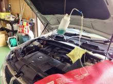 BMW E90 オイル交換 RECSにプラグ交換も(*^_^*)