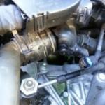 R56 クーパーS サーモスタット水漏れ(´・ω・`)