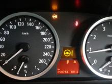 本日はE60 5シリーズ ステアリング警告灯点灯 (^O^)