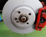本日はR56 クーパーS Ate 低ダストパッド交換です。