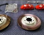 R61 ペースマン GIOMIC フォージド・ブレーキキャリパー取り付けとアライメント調整