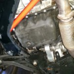 本日は昨日からに引き続きR55 クーパーS オイル漏れ修理です。