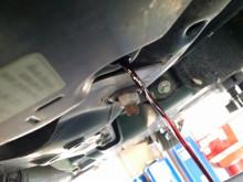 本日はR56 クーパーS ATF交換と後付スポーツボタン (^O^)