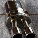 本日はR56 クーパーS GIOMIC エキゾーストサイレンサー 取り付け(^o^)