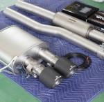 本日はF56 ジョンクーパーワークス レムスマフラー と GIOMIC メンバーブレースセット