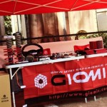 GIOMICパーツの展示・販売イベントを開催