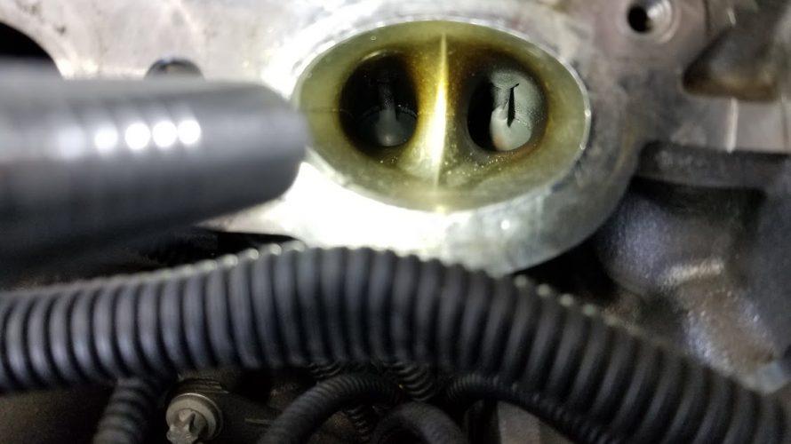 F56 インテークバルブ カーボン除去