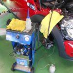 R59 mini ロードスター 車検作業
