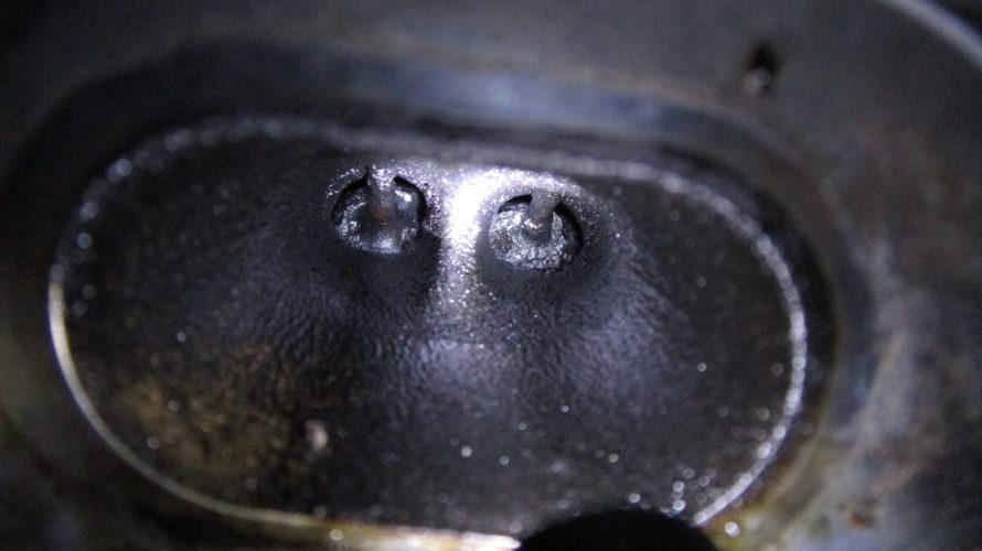 R56 クーパーS N14前期エンジン インテークバルブカーボン除去
